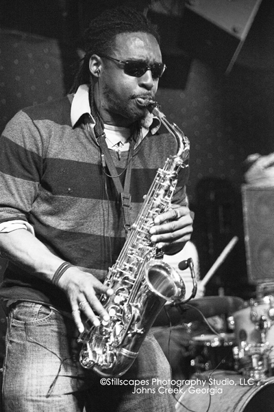 Cedric Wiley on the Saxophone
